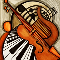 Logo of radio station JAZZRADIO.com - Gypsy Jazz