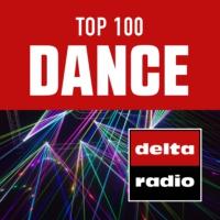 Logo de la radio delta radio TOP 100 DANCE