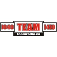 Logo of radio station CKST - Team 1040