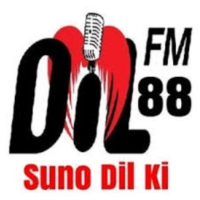 Logo of radio station DiL FM Okara
