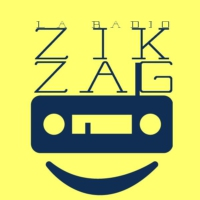 Logo of radio station zik zag radio