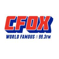 Logo of radio station CFOX 99.3 FM