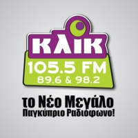 Logo of radio station KLIK FM