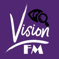 Logo of radio station VISION FM GHANA