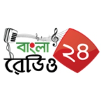 Logo of radio station Bangla Radio 24