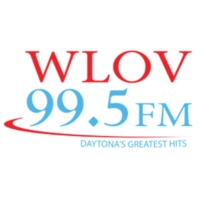 Logo of radio station WLOV 99.5 FM