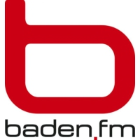 Logo of radio station Baden FM