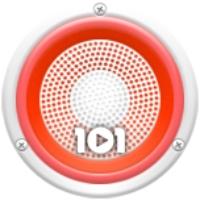 Logo de la radio 101.ru - Русские Народные
