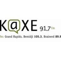 Logo of radio station KAXE 91.7