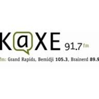 Logo of radio station KAXE 91.7