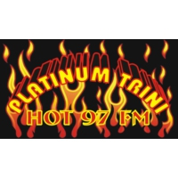 Logo of radio station Platinum Trini Hot 97 FM
