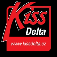 Logo of radio station Kiss Delta