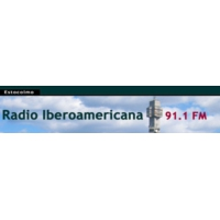Logo of radio station IberoAmericana 91.1
