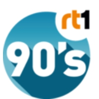 Logo of radio station RT1 90's