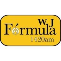 Logo of radio station XEWJ Fórmula