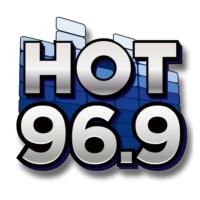 Logo of radio station HOT 96.9 Boston