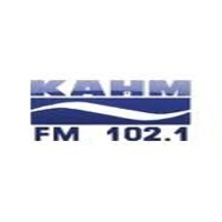 Logo of radio station KAHM