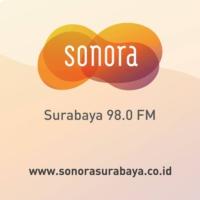 Logo of radio station Radio Sonora Surabaya