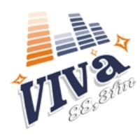 Logo de la radio Viva FM 88.3
