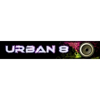 Logo of radio station urban8