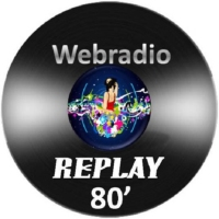 Logo of radio station Webradio Replay 80'