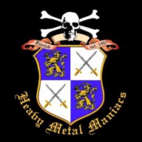 Logo of radio station Heavy Metal Maniacs
