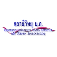 Logo of radio station Kasetsart University Radio