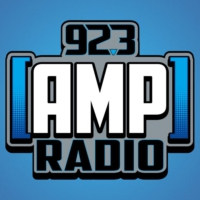 Logo of radio station 92.3 AMP