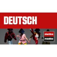 Logo of radio station delta radio - DEUTSCH