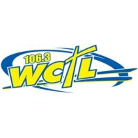 Logo of radio station 106.3 WCTL