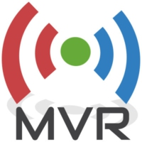 Logo of radio station M VOICE Radio