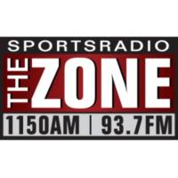 Logo of radio station KZNE The Zone 1150 AM