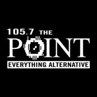 Logo of radio station KPNT 105.7 The Point
