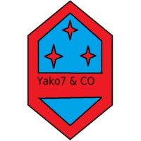 Logo of radio station Yako7 & co