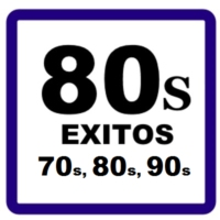 Logo of radio station 80 ÉXITS