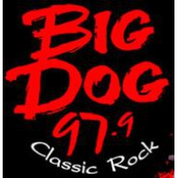 Logo of radio station KXDG Big Dog 97.9