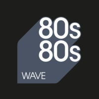 Logo of radio station 80s80s Wave