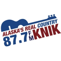 Logo of radio station KNIK 87.7 FM