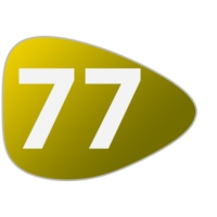 Logo of radio station 77-fm