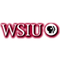 Logo of radio station WSIU