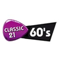 Logo of radio station Classic 21 60s