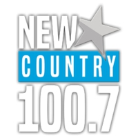 Logo of radio station New Country 100.7
