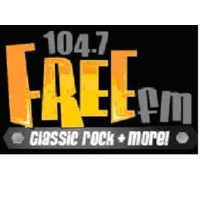 Logo of radio station 104.7 Free FM