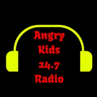Logo of radio station Angry Kids 24-7 Radio
