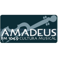 Logo of radio station Radio Amadeus 100.3 Cultura Musical