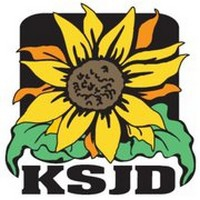 Logo of radio station KSJD