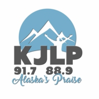 Logo of radio station KJLP FM