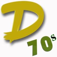 Logo of radio station #1 D 70s