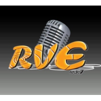 Logo of radio station RVE 103.7