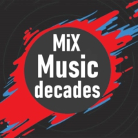 Logo of radio station MiX Music Decades